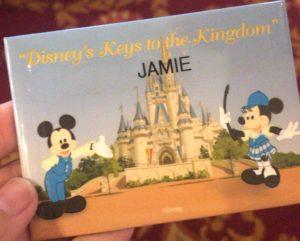 Keys to the Kingdom Name tag