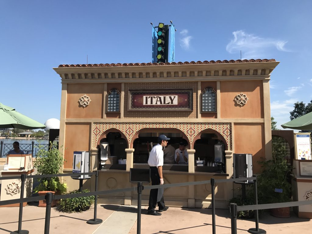Epcot International Food and Wine Festival Italy Kiosk