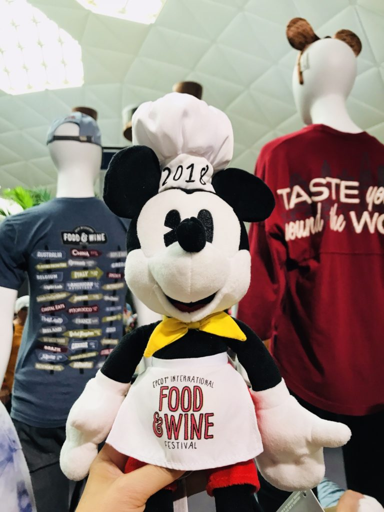 Chef Mickey Food and Wine Festival Merchandise