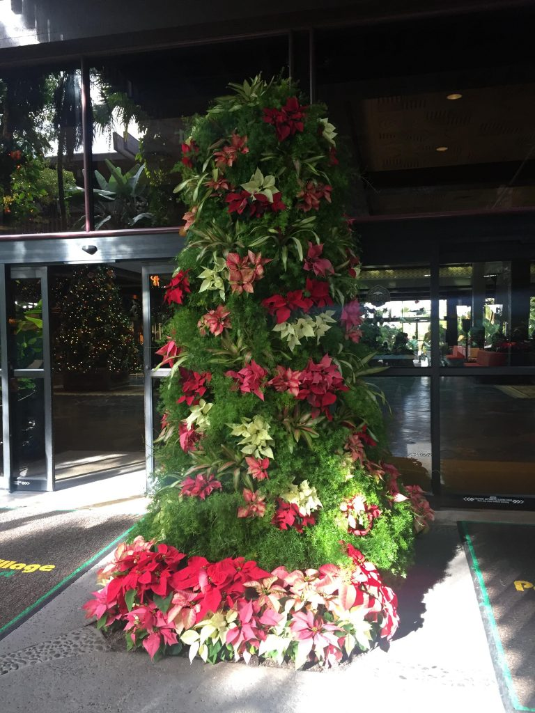 Polynesian Christmas Tree Disney World