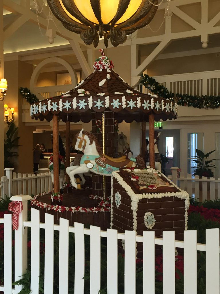 Christmas Carousel at Disney's Beach Club Resort