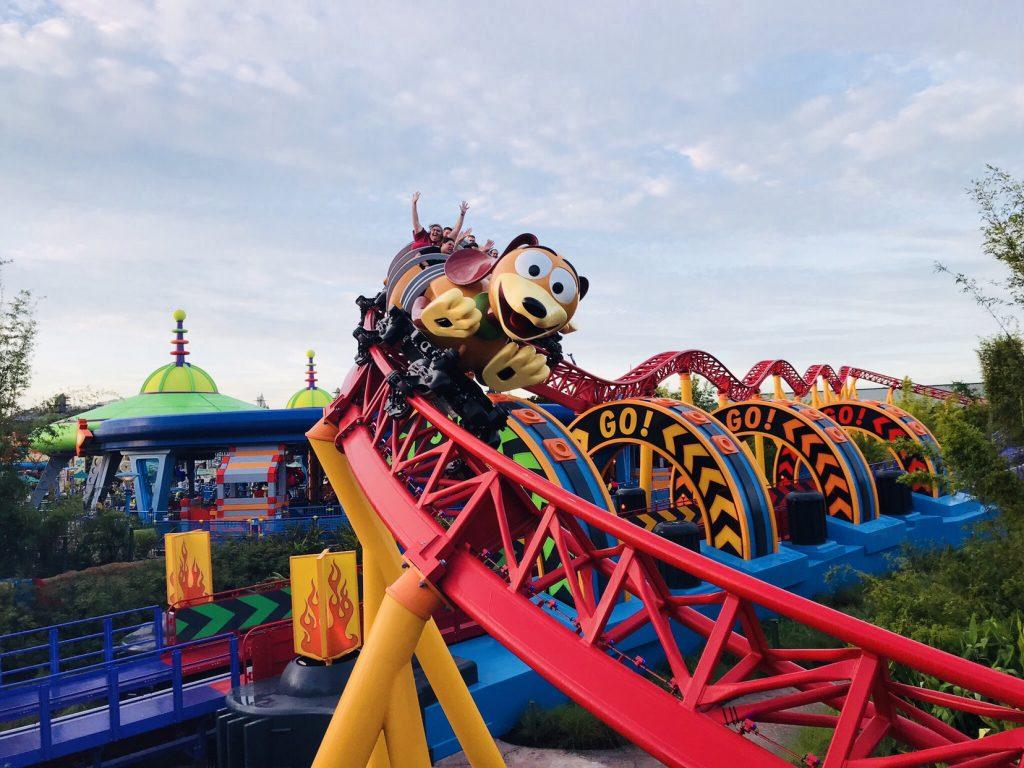 Slinky Dog Dash Toy Story Land Hollywood Studios