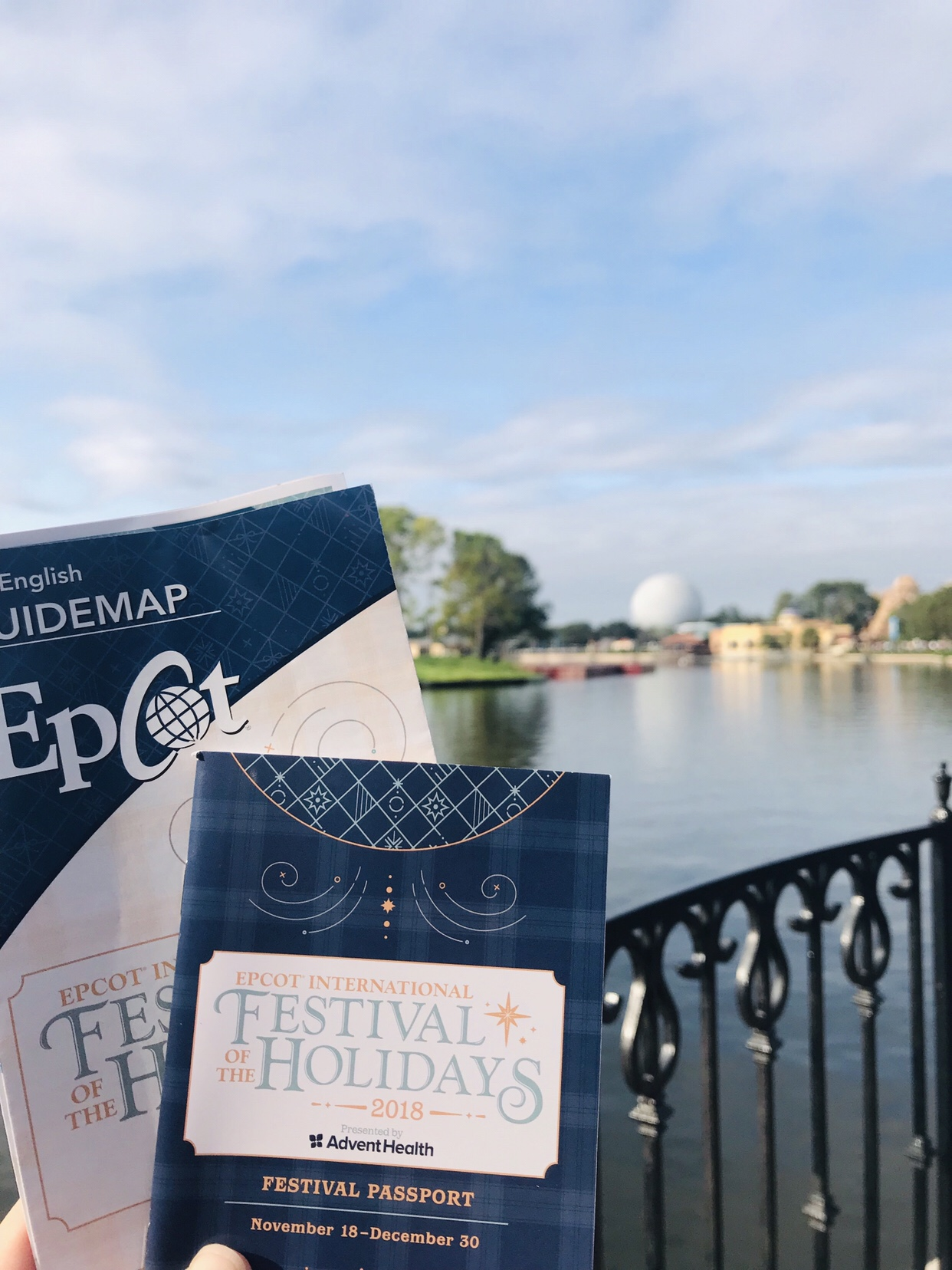 Epcot Festival of the Holidays Festival Passport and Times Guide