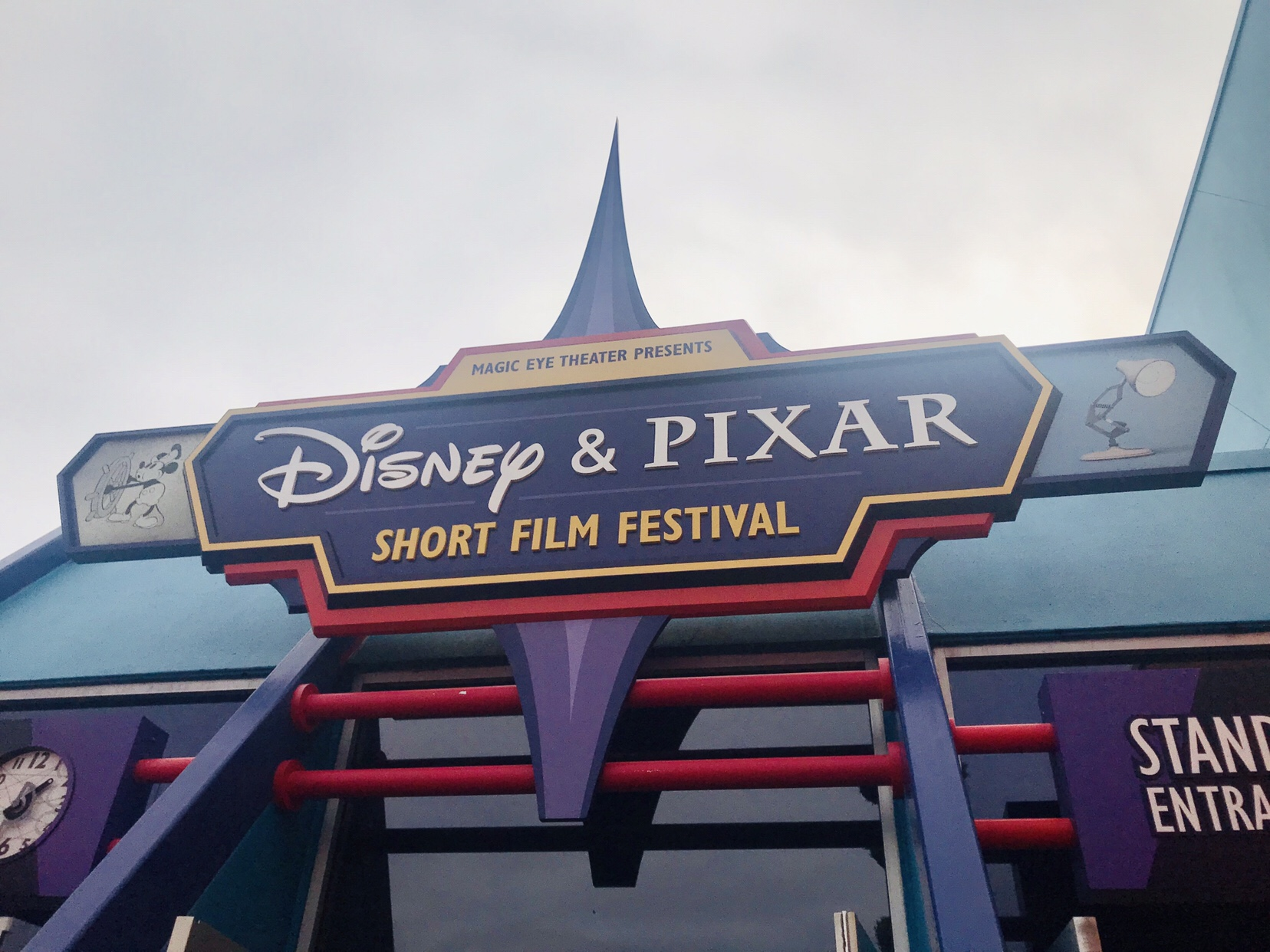 Disney and Pixar Short Film Festival at Disney World Epcot on the touring plan
