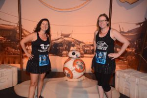 Kara and I with BB8