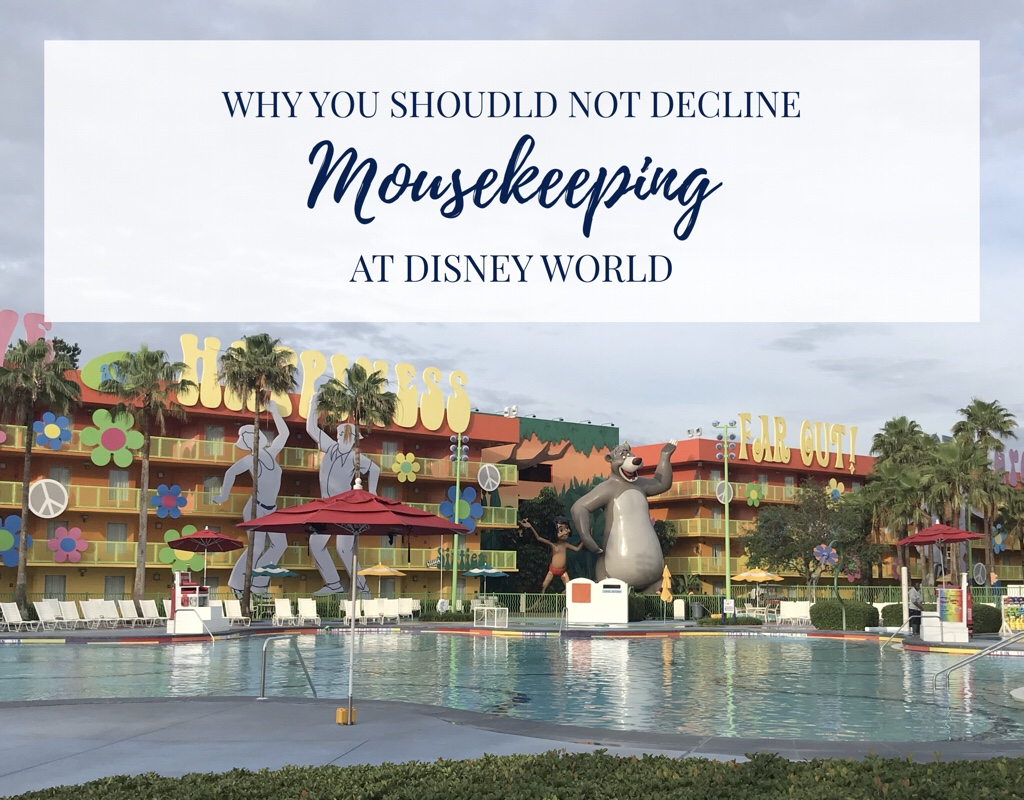 Why you should NOT decline housekeeping at Disney?s Pop Century Resort