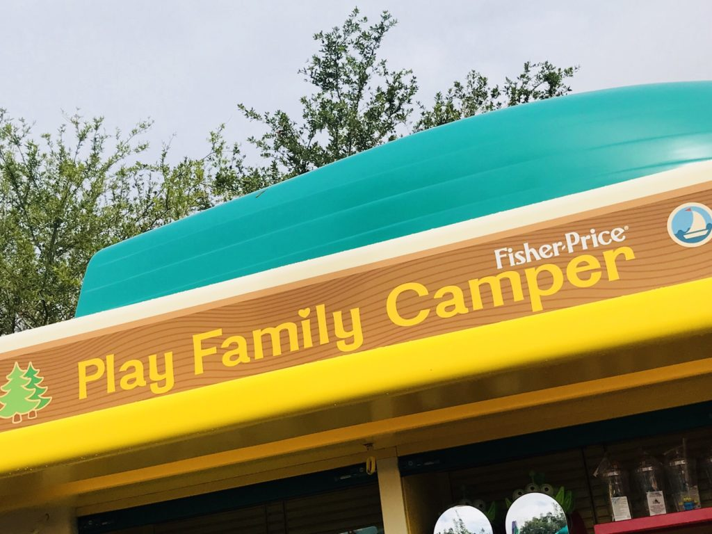 Play Family Camper top