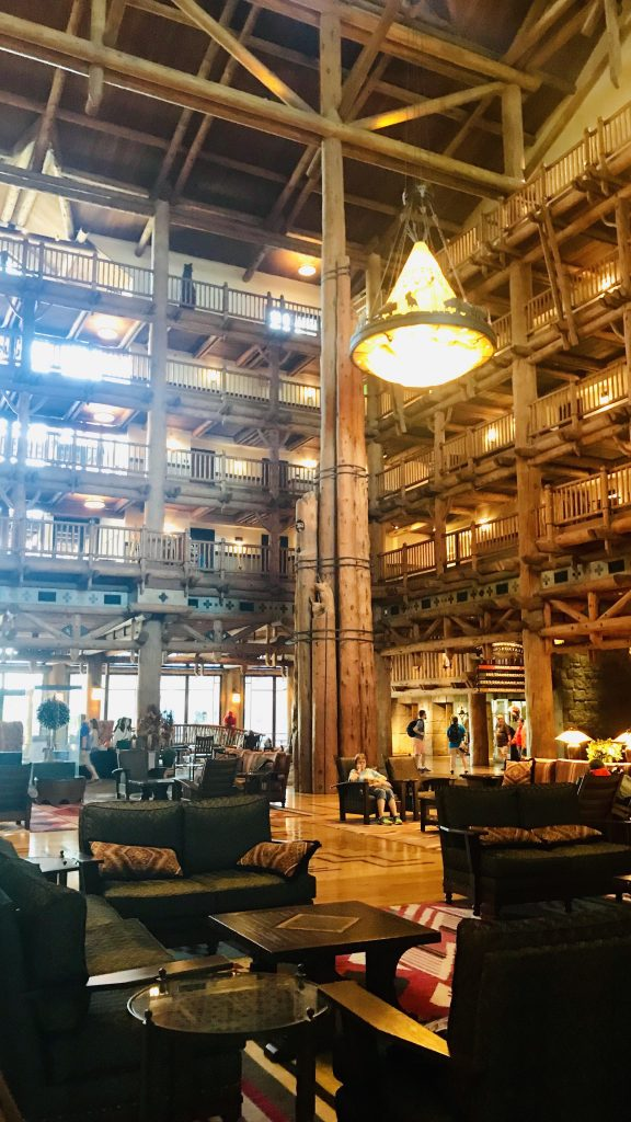 Disney's Wilderness Lodge Grand Lobby