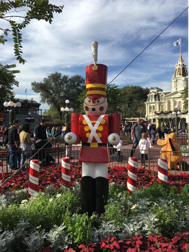 Toy Soldier at Disneys Magic Kingdom