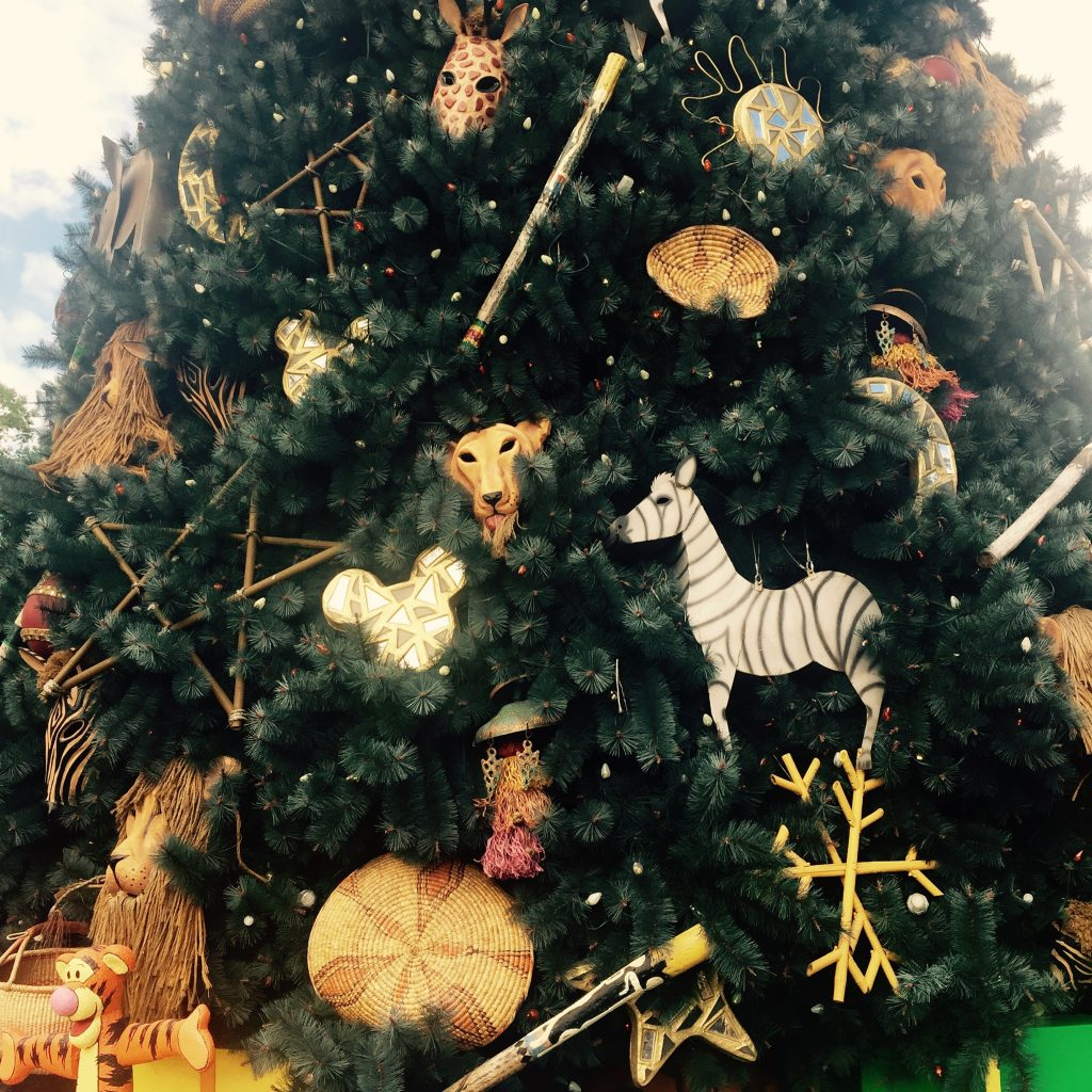 Animal Kingdom Christmas tree details