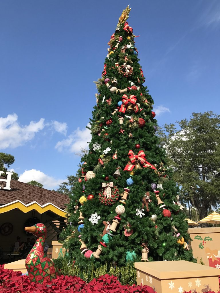 Christmas Tree at Disney Springs