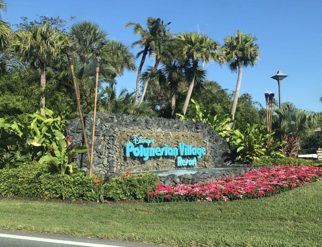 Disney World Refurbishments - Polynesian Resort Entrance