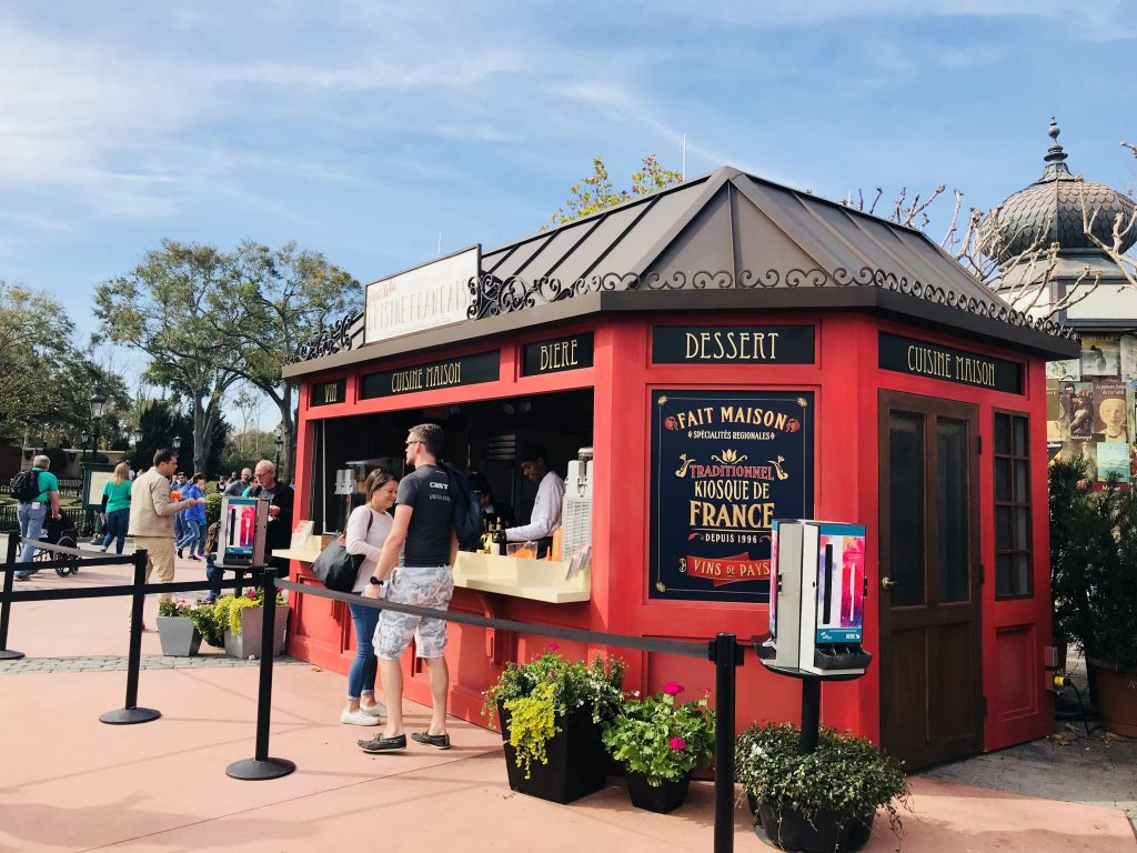Le Art de Cuisine France at Epcot Festival of the Arts