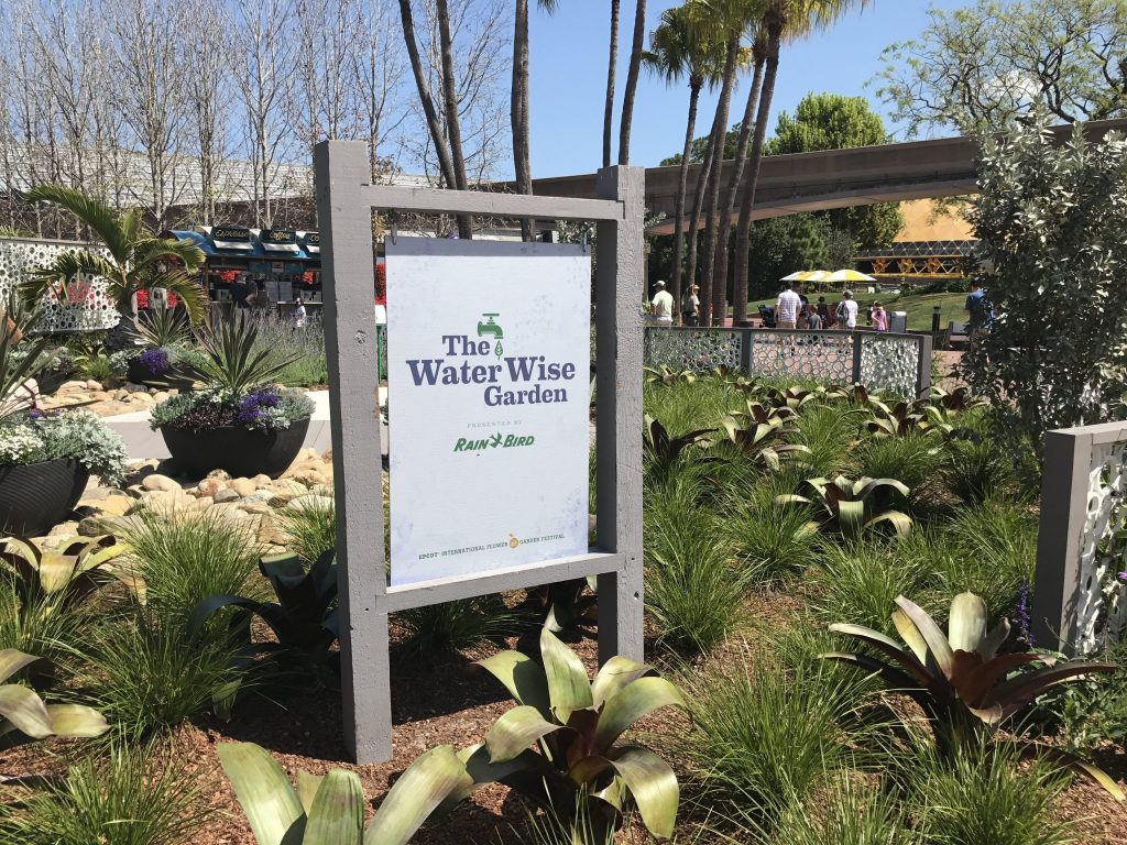 The Water Wise Garden at Epcot Flower and Garden Festival