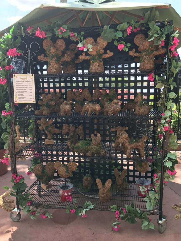 Noah's Art Topiaries at Epcot Flower and Garden Festival