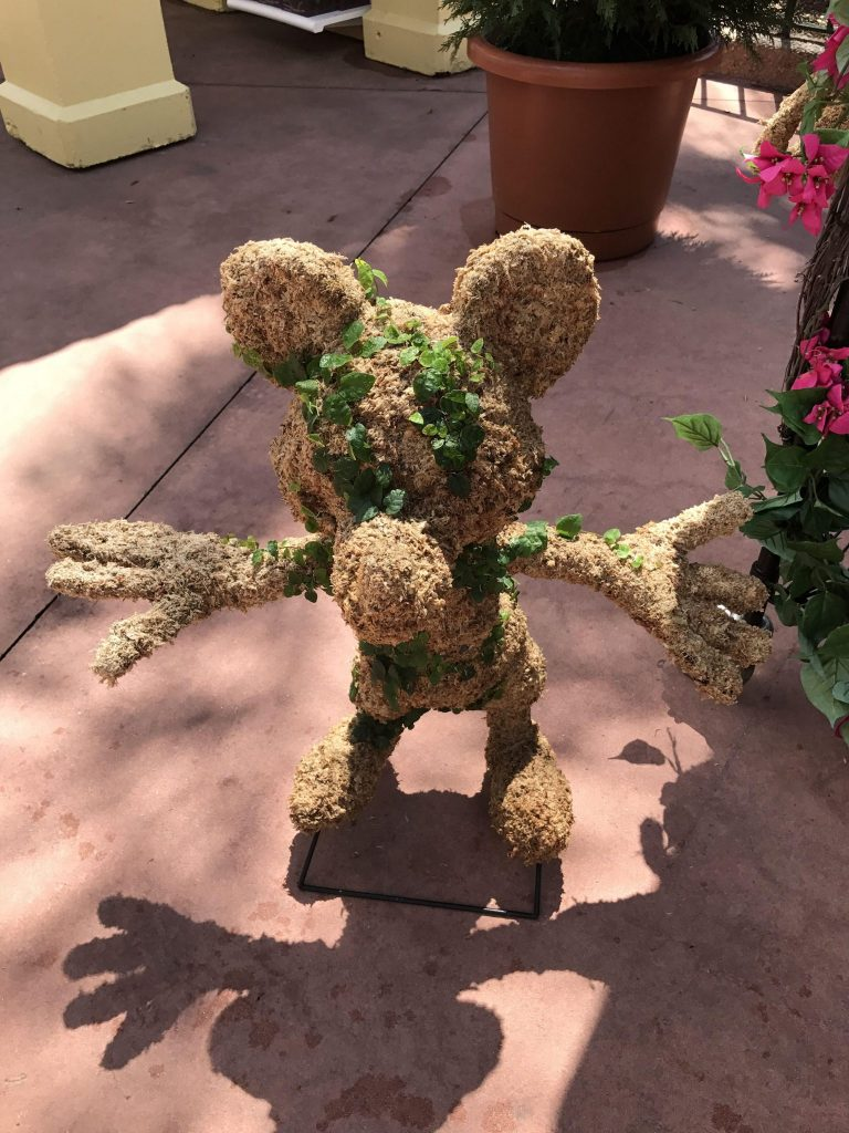 Mickey Mouse Topiary from Noah's Art Topiaries at Epcot Flower and Garden Festival