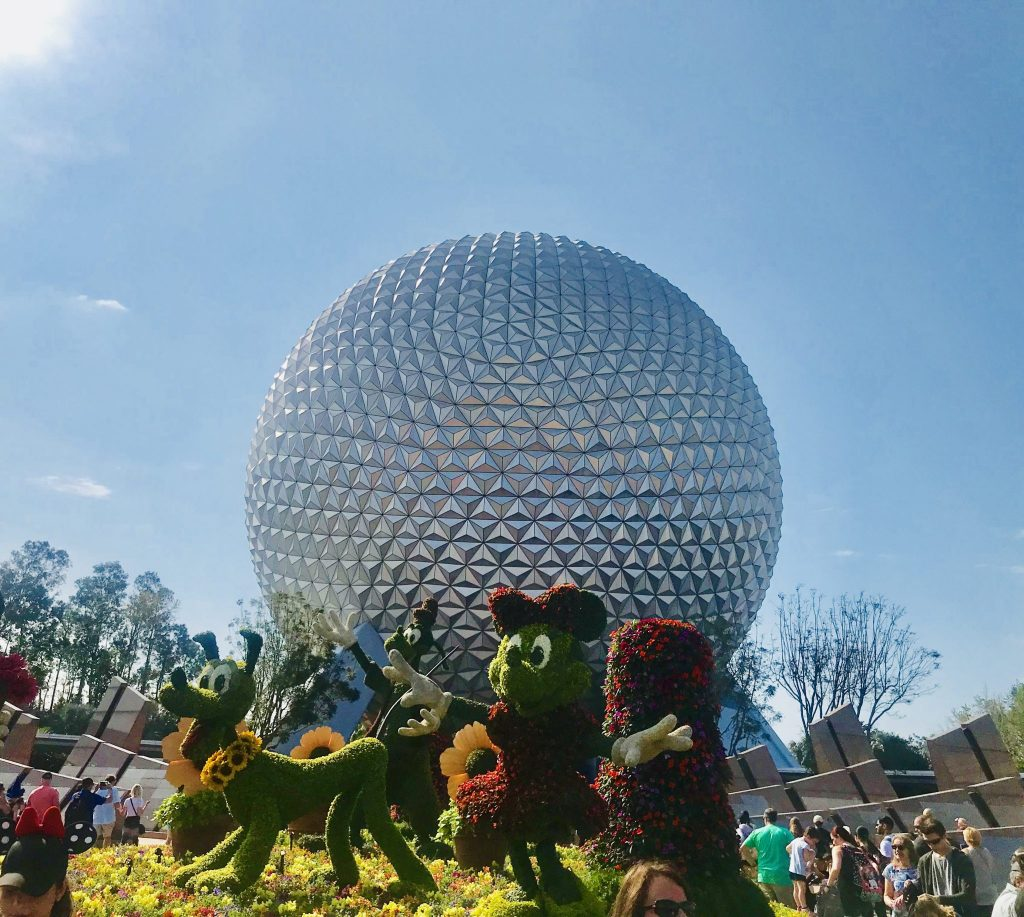 Epcot Flower and Garden Festival entrance 2018