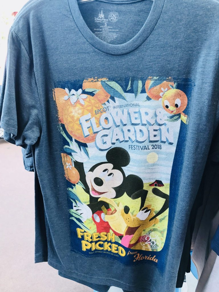 Mickey's Grove tshirt at Epcot Flower and Garden Festival