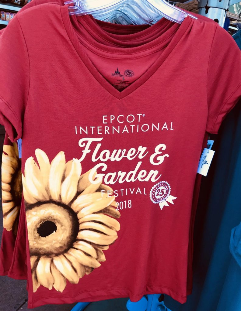 Fresh Epcot Flower and Garden Festival tshirt