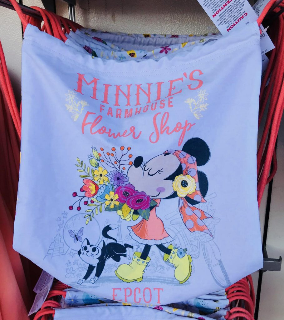 Minnie's Farmhouse Flower Shop merchandise at Epcot Flower and Garden Festival