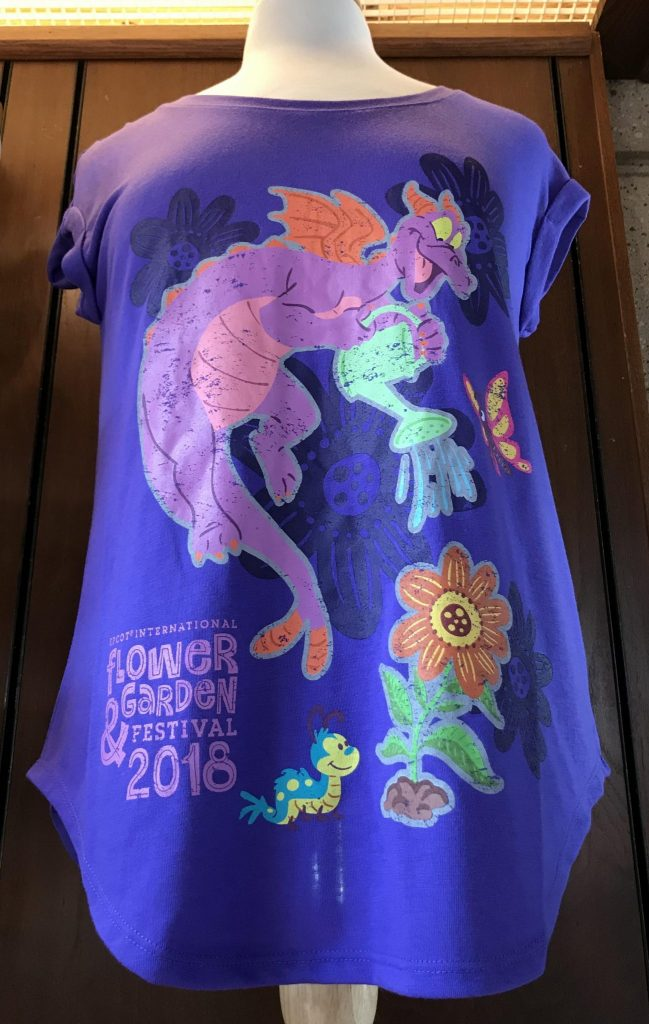 Figment Discovers collection tshirt at Epcot Flower and Garden Festival