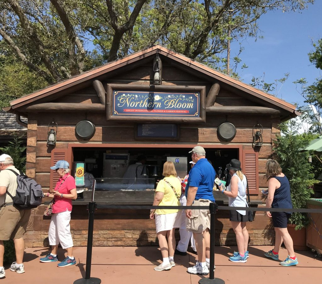 Northern Bloom outdoor kitchen at Epcot Flower and Garden Festival