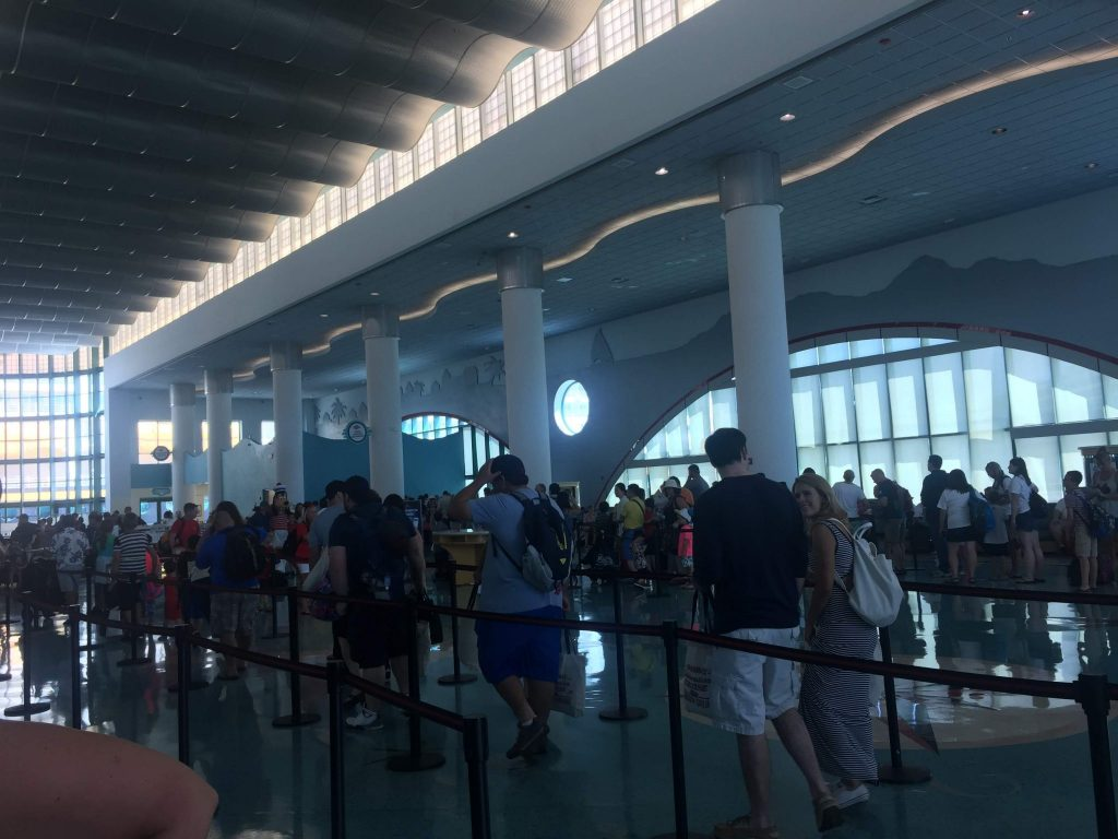 DIsney Cruise Port Check in
