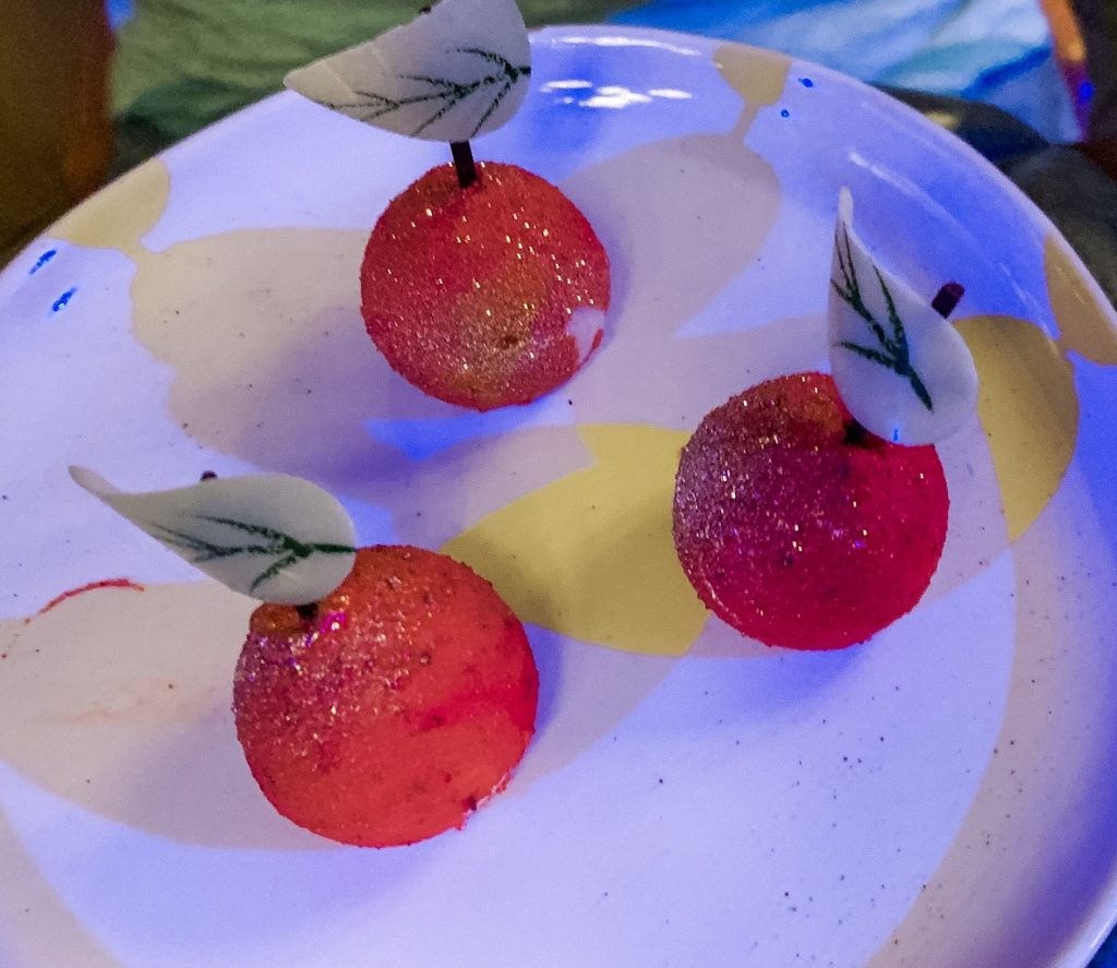 Dessert at Storybook Dining with Snow White