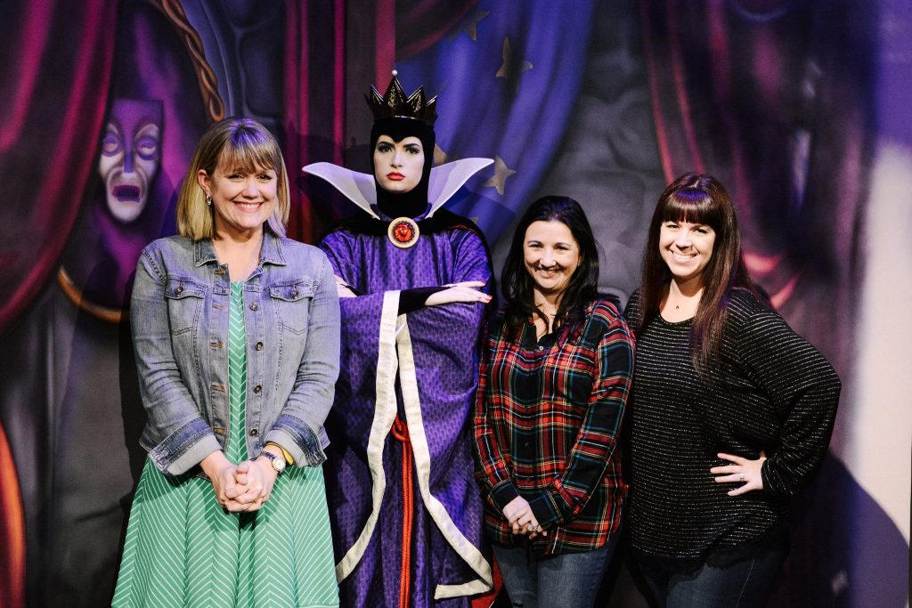 Meeting the Evil Queen at Storybook Dining with Snow White