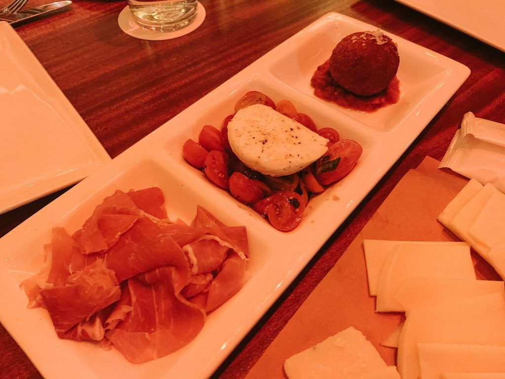 Maria & Enzo's at Disney Springs Salumi E Formaggi appetizer
