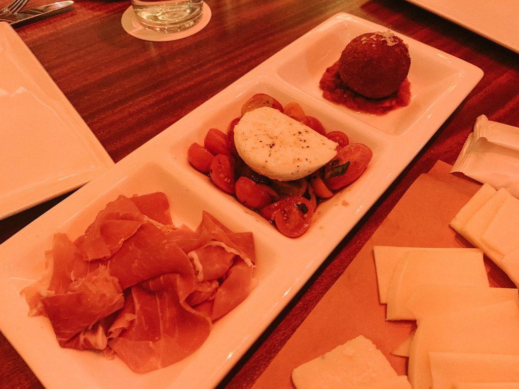 Maria & Enzo's at Disney Springs Salumi E Formaggi appetizer