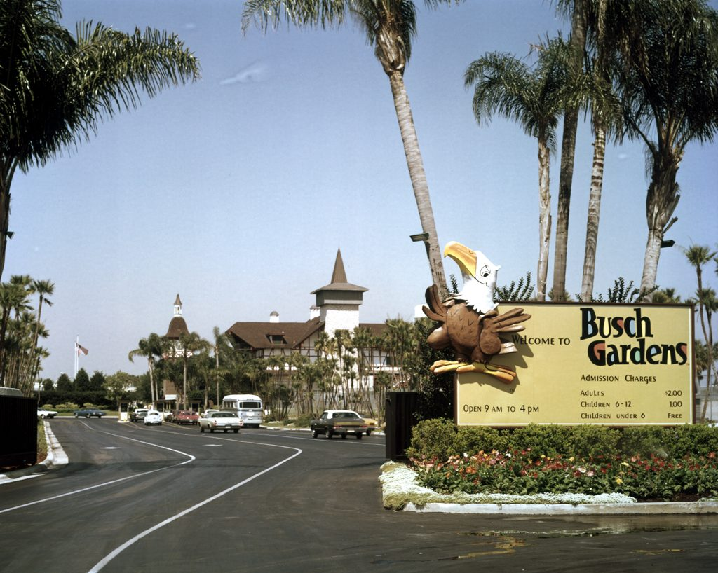 Historic photo of Busch Gardens Tampa Bay