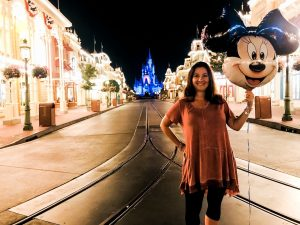 Jamie Love of the Magic Vacations on Main Street USA