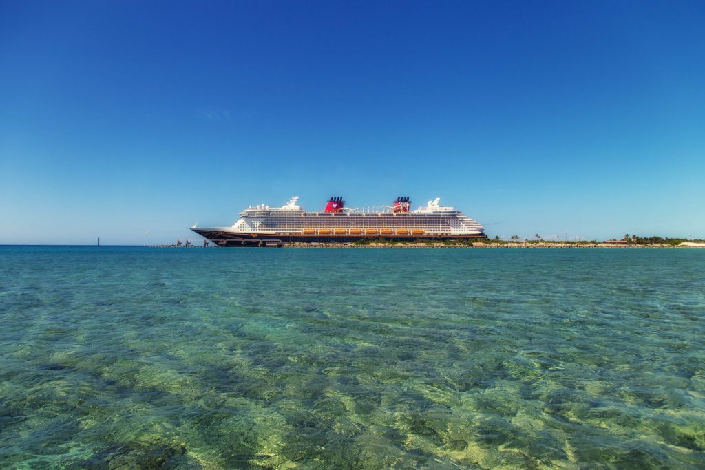 Disney Cruise at Castaway Cay