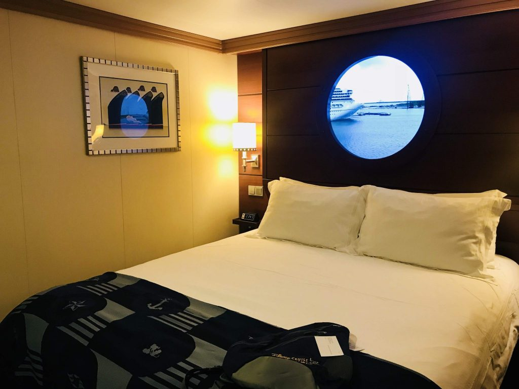 Disney Cruise inside stateroom