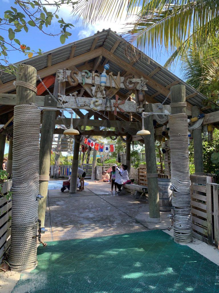 Spring a leak kids splash pad area on Disney Castaway Cay
