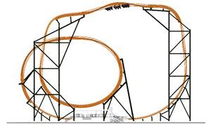 Tigris Roller Coaster at Busch Gardens Tampa Bay