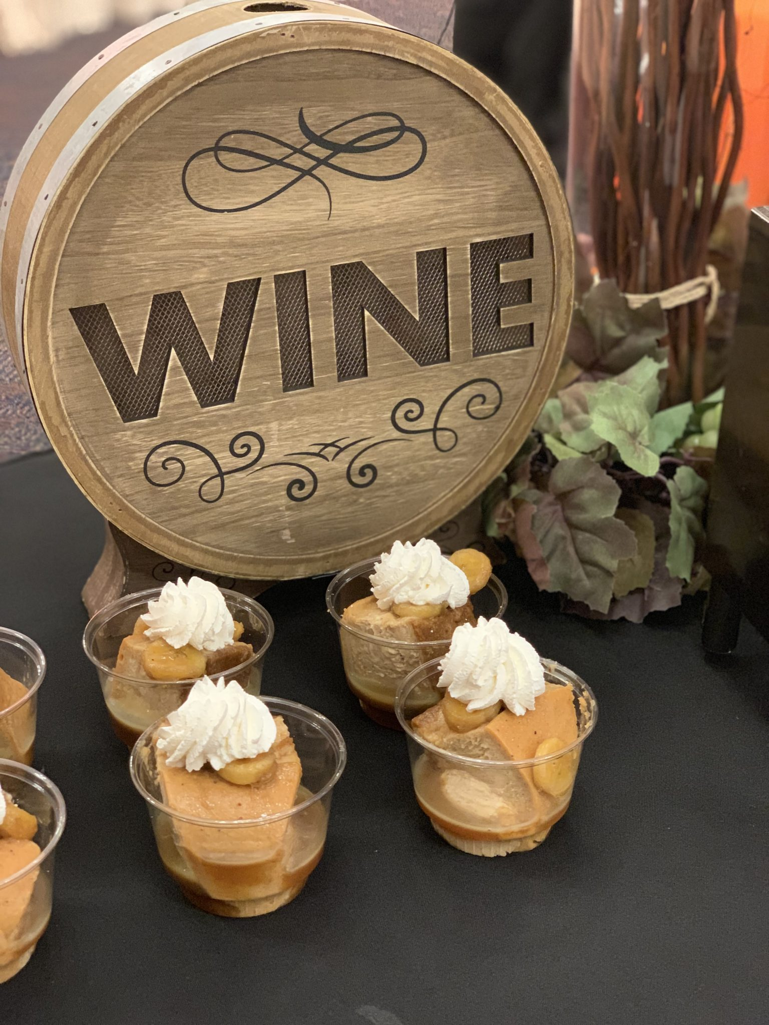 Banana Fosters Cheesecake at Busch Gardens Tampa Bay Food and Wine Festival Nola Food Cabin