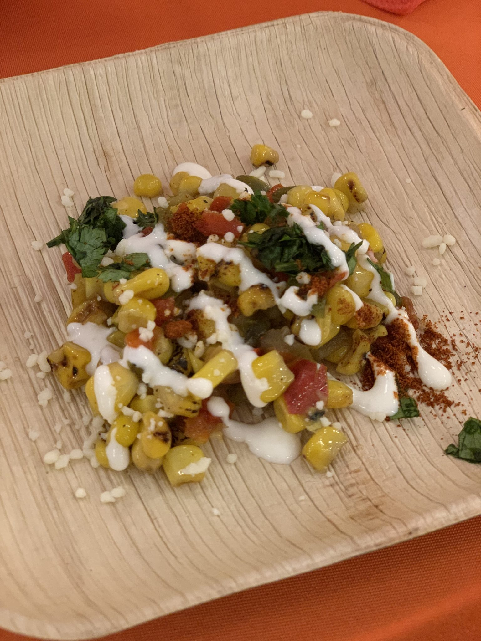 Grilled Street Corn at Busch Gardens Tampa Bay Food and Wine Festival