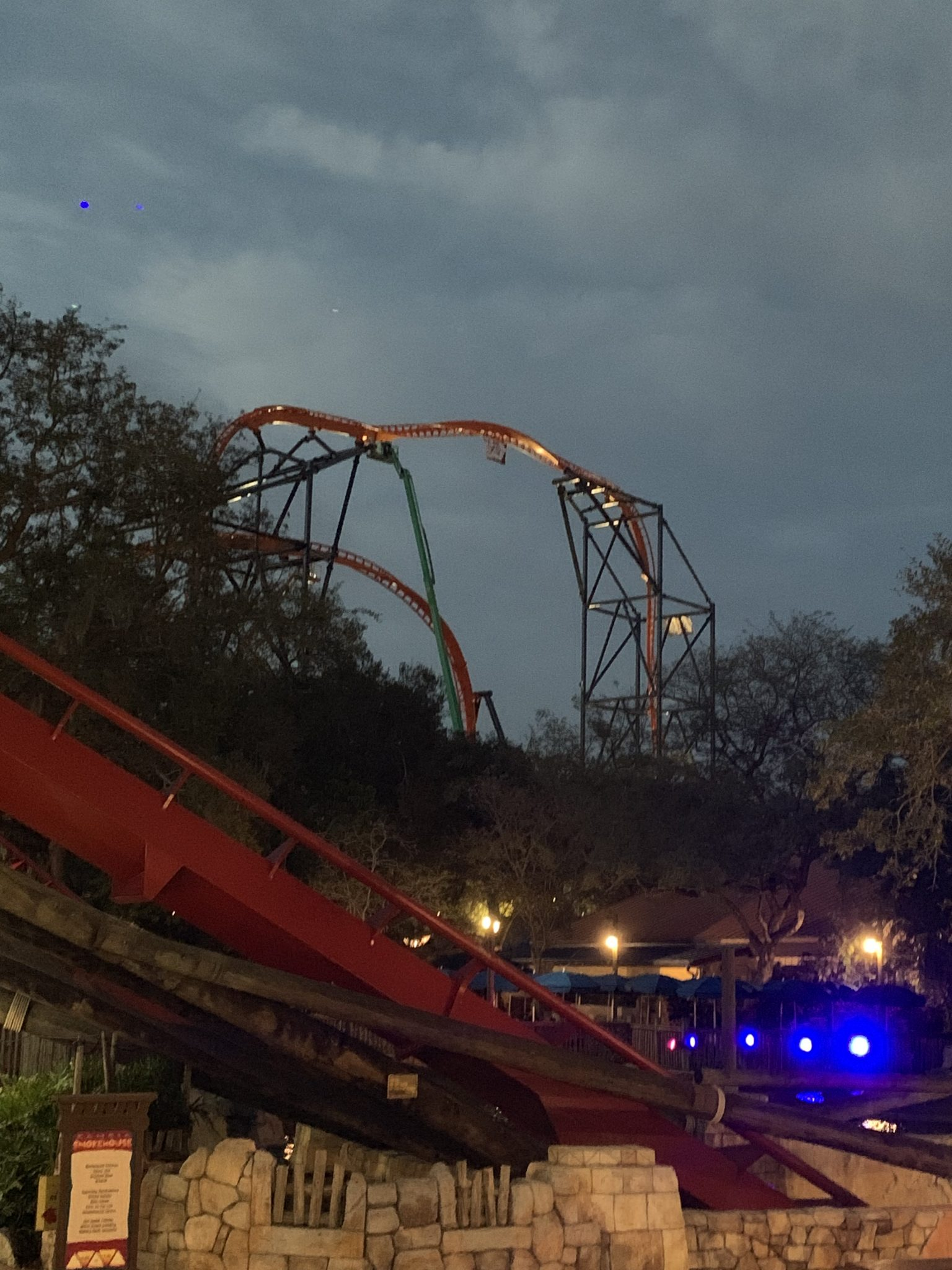 New Tigris roller coaster at Busch Gardens Tampa Bay