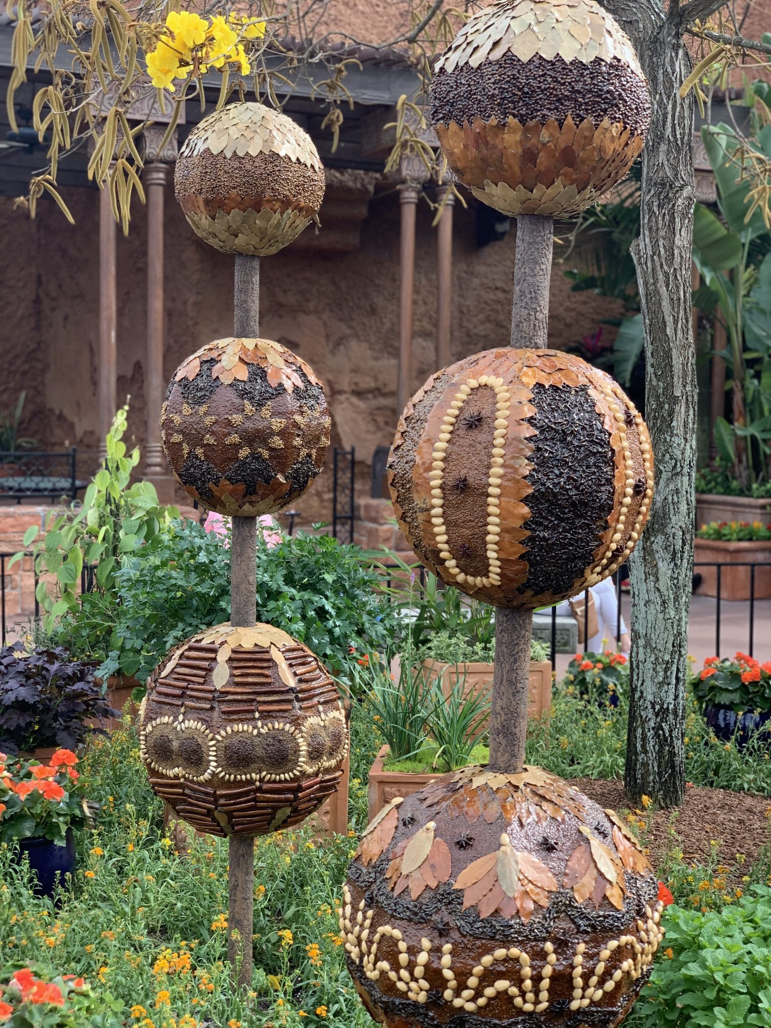 Urban Spice garden in Morocco at the Epcot Flower and Garden Festival