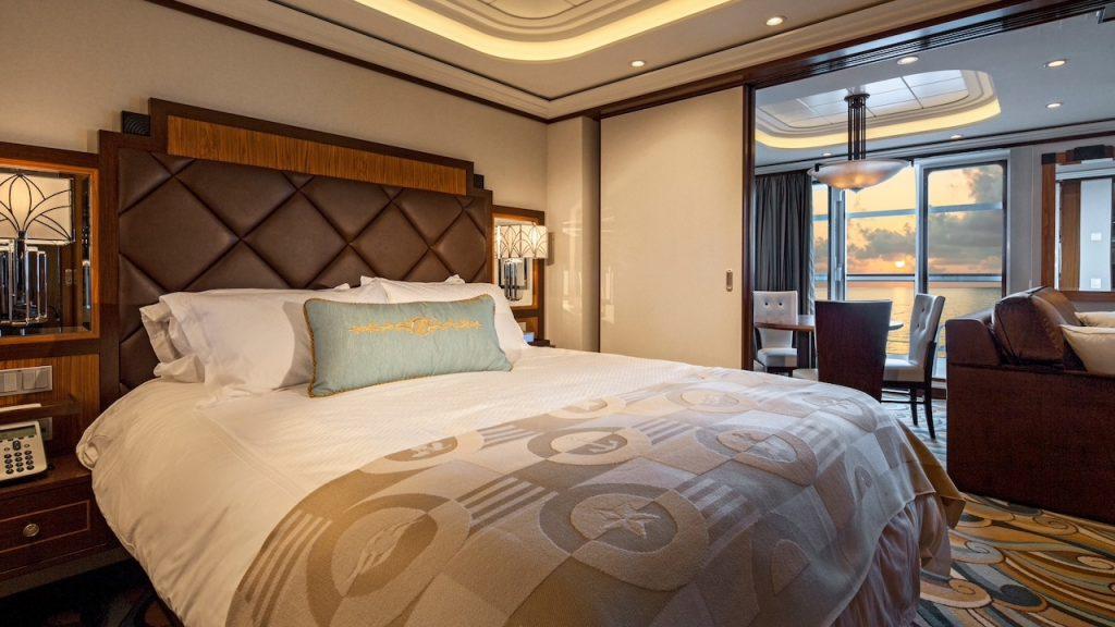 DIsney Cruise Line one bedroom suite