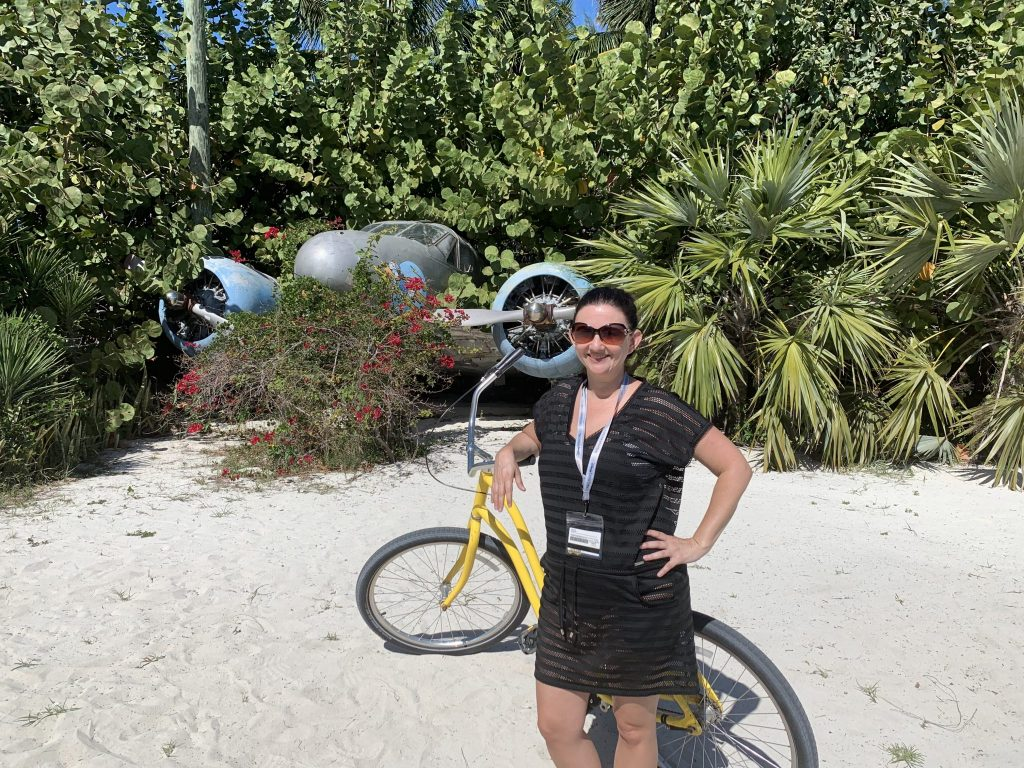 Bike rentals on Disney Cruise Line Castaway Cay private island