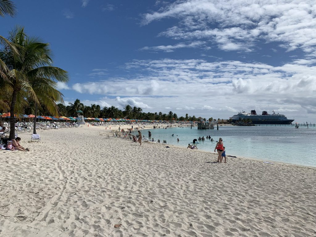 Beach on Castaway Cay Disney Cruise Line