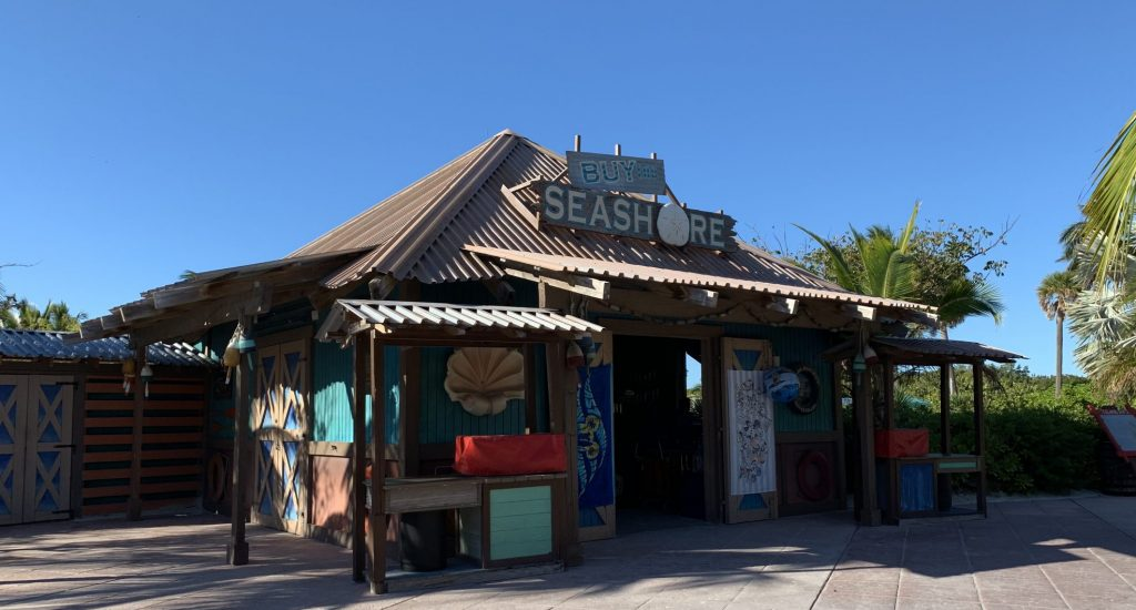 Buy the Seashore shopping on Disneys Private Island