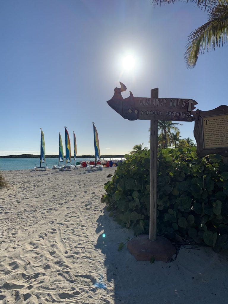 Boat Beach Castaway Cay