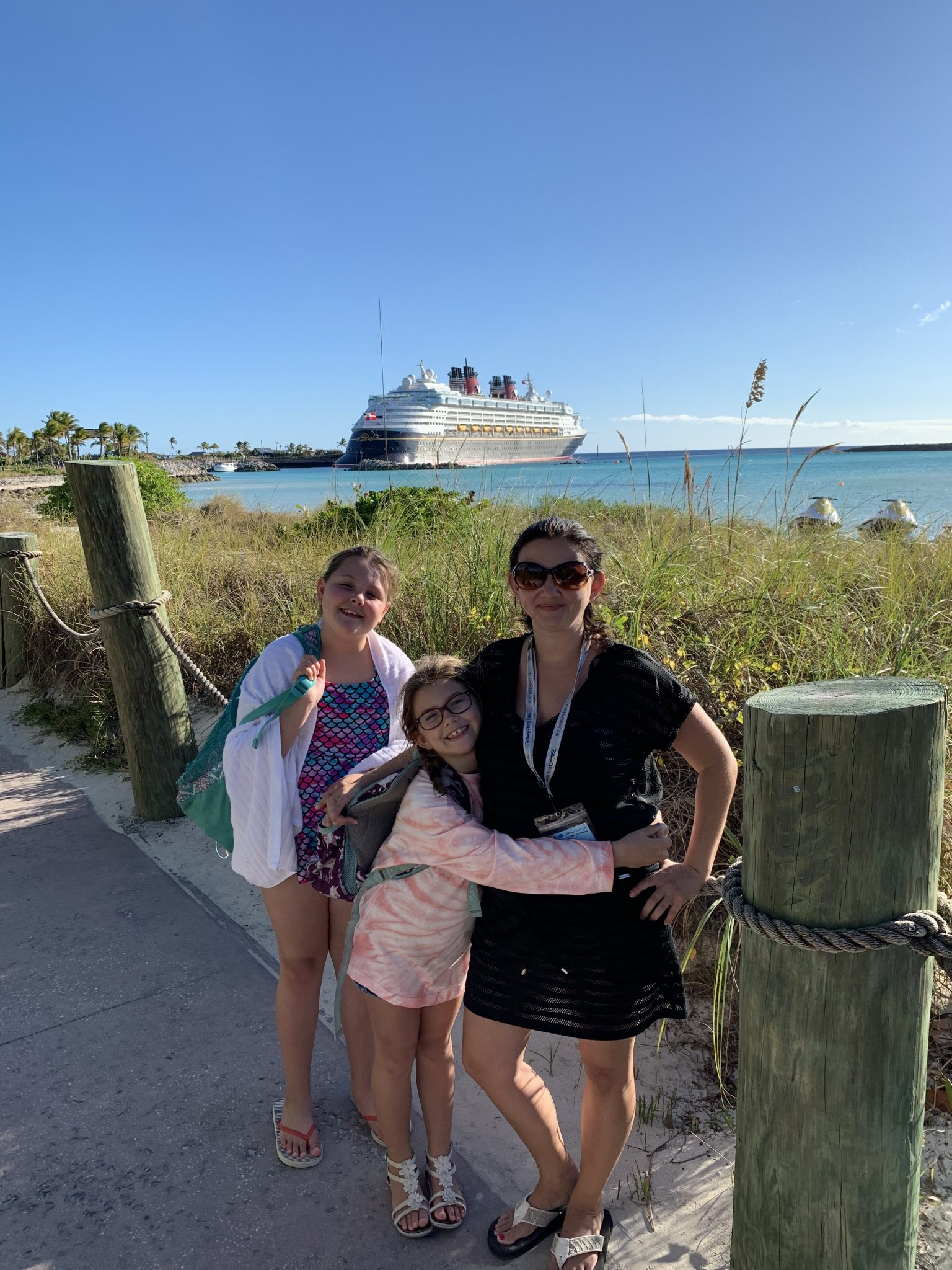 Disney Wonder on Castaway Cay