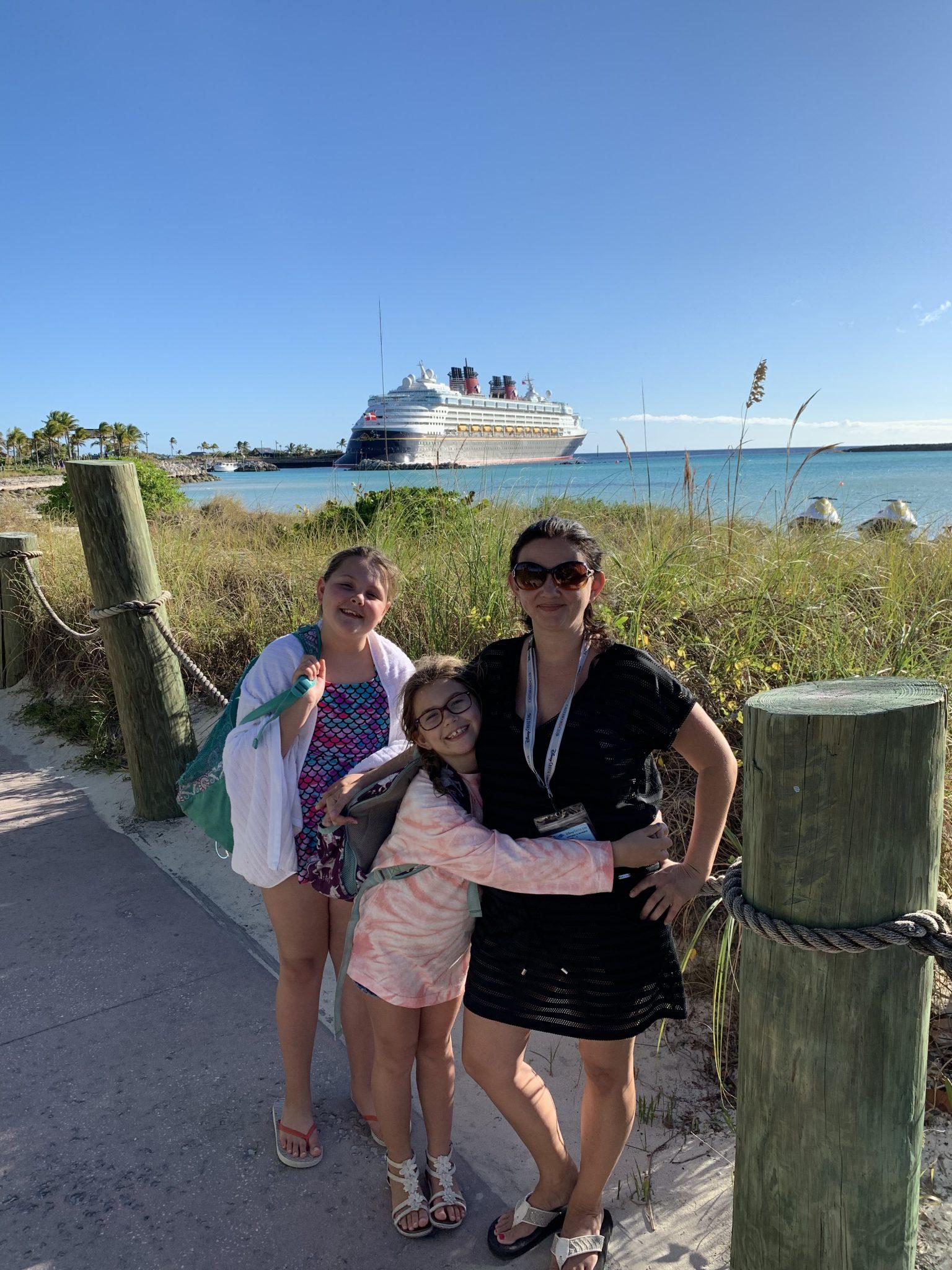 Disney Wonder on Castaway Cay