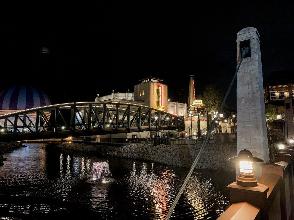 Enzo's Hideaway, Maria and Enzo's and The Edison at Disney Springs