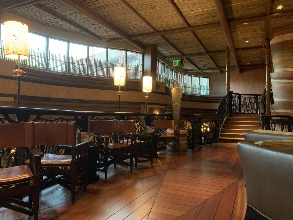 Victorica Falls Bar and Lounge at Animal Kingdom Lodge